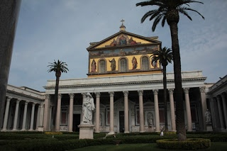 consigli per viaggiare: #invasionidigitali: San Paolo fuori le mura, Roma