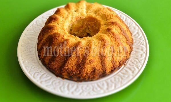 Κέικ λεμόνι χωρίς αβγά και βούτυρο από τον Γιώργο Γεράρδο!