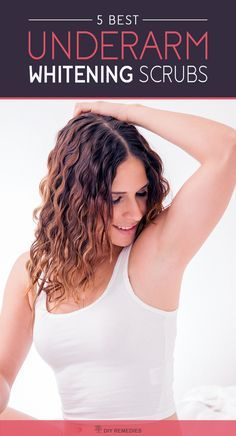 There are many natural effective scrubs that definitely give you soft, smooth and white underarms. Also, regular follow-up of these scrubs will help you to get rid of body odor which in turn keeps your underarms clean and fresh throughout the day.