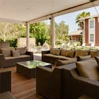 Protea Hotel Bloemfontein Deck