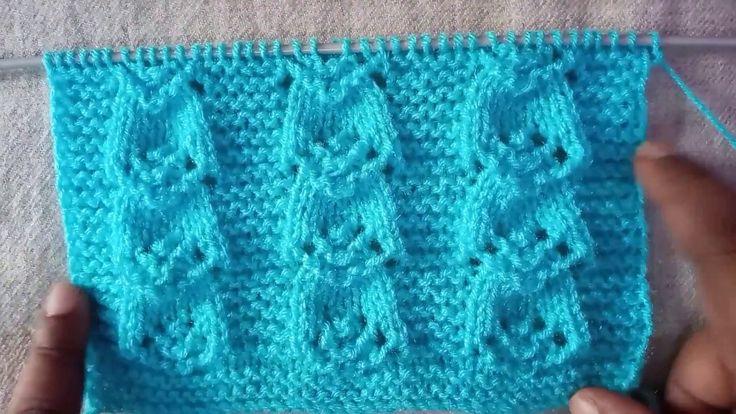Easy Single Color Knitting Pattern No.65|Hindi