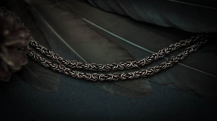 Copper Chain Wire Wrapped copper necklace handmade от WireAjur