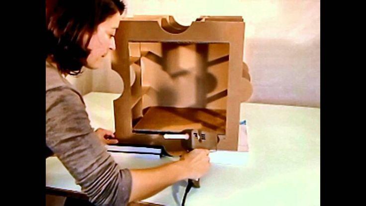 Montage du kit de meuble en carton Huzzle : Etape 3