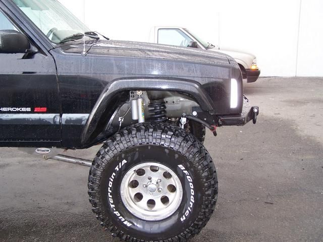 Front Fender Trim Write Up Retaining The Stock Flare Jeep Xj Jeep Grand Cherokee Zj Jeep Cherokee Xj