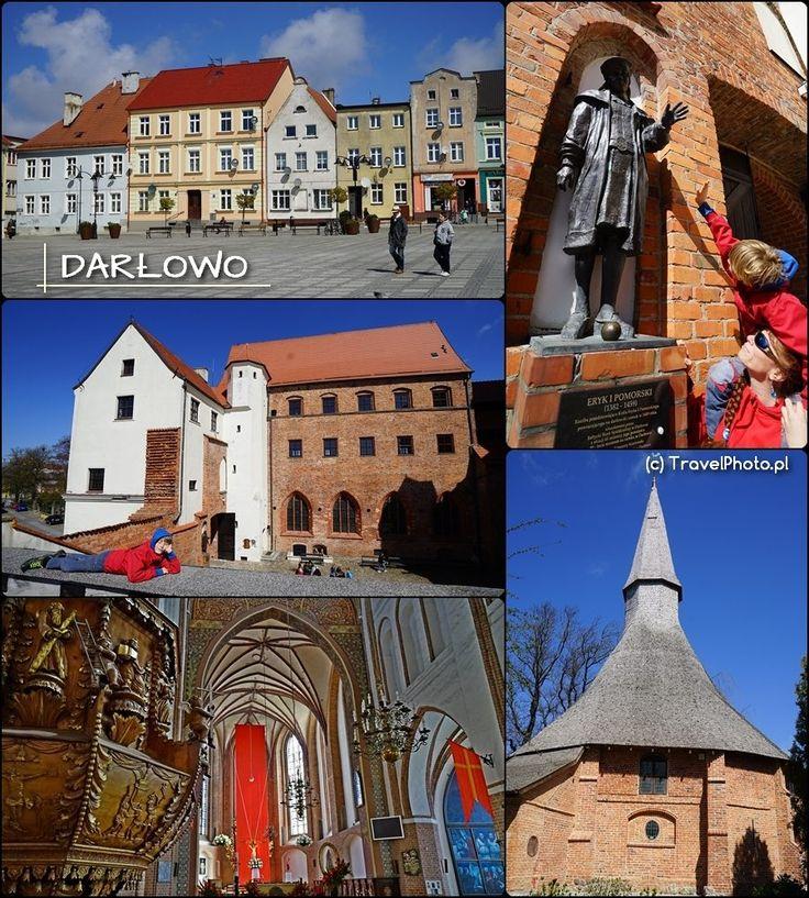 Darłowo - królewskie miasto! Mało kto wie, że w Kościele Mariackim znajduje się sarkofag z prochami Eryka I - księcia pomorskiego i króla Danii, Norwegii i Szwecji. Bardzo ładne klimatyczne miasto!