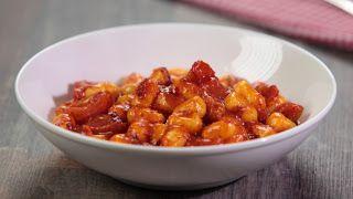 Denny Chef Blog:  Gnocchi di patate dolci con la 'nduja