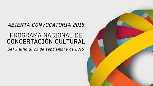 Programa Nacional de Concertación, MinCultura más de $40 mil millones para apoyar proyectos culturales