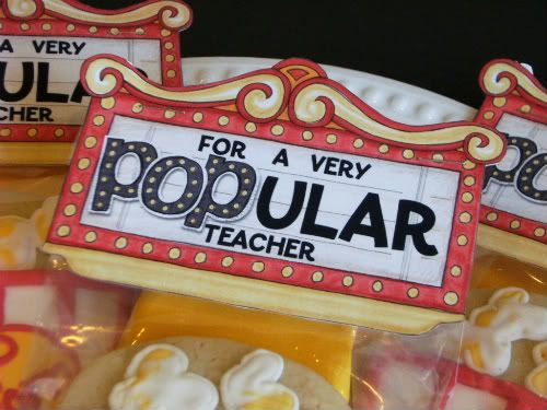 Cute tag for Teacher Appreciation Gift-Cute cookie  Free Download