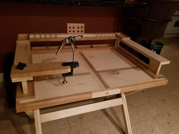 360 Best Fly Tying Benches Images On Pinterest Fly Tying