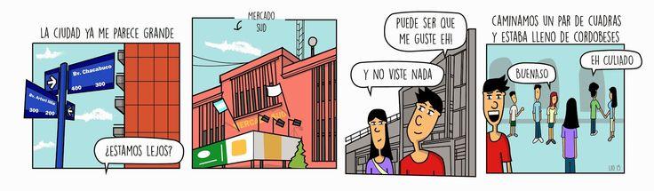 Como perderse en Córdoba - Lo primero