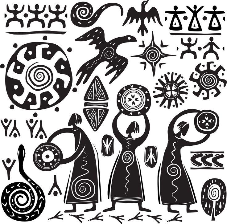 шаманские узоры: 19 тыс изображений найдено в Яндекс.Картинках