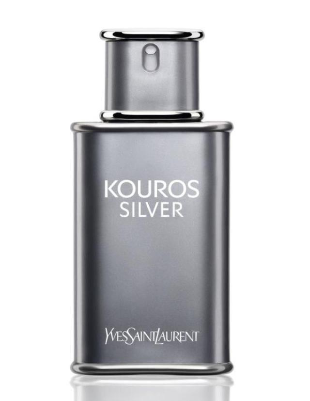 5 Gorgeous Looking Fragrance Bottles for Spring 2015: YSL Silver Kouros for men