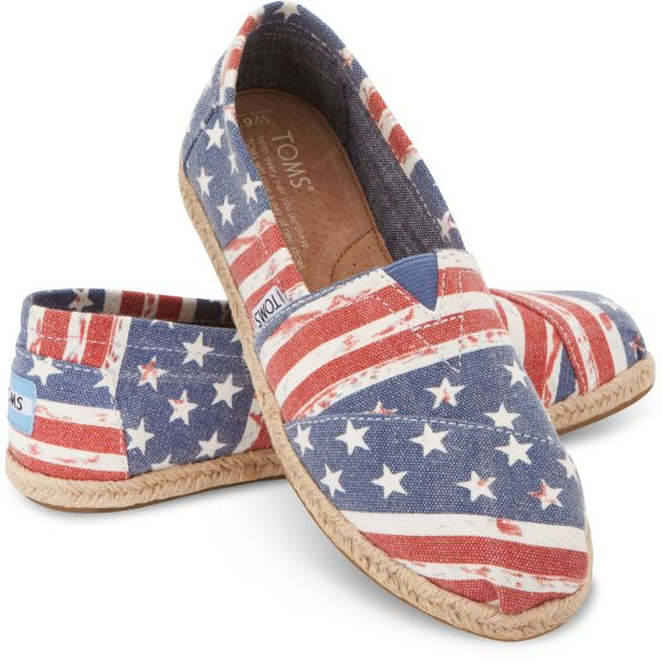 American Flag Women's Classics by Toms Shoes