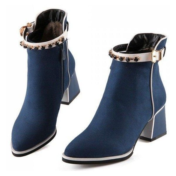 Chelsea crystal-embellished suede boots