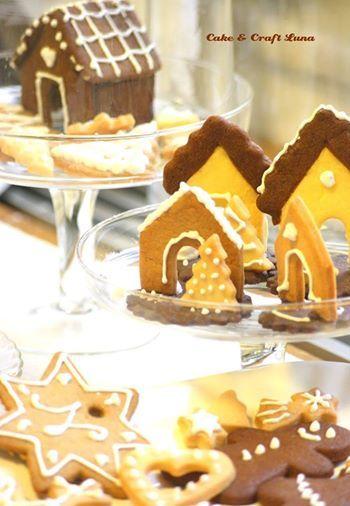 gingerbread biscotti natalizi