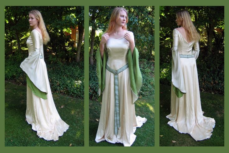 earth wedding dress