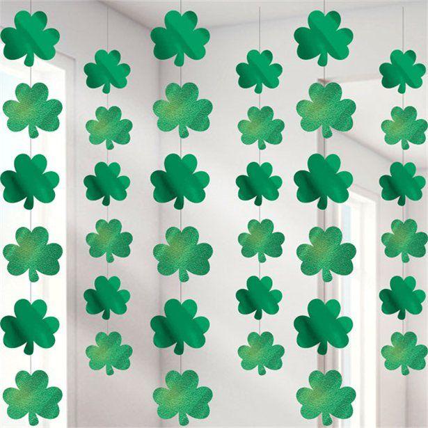 St Patricks Cross Ireland 20 flag bunting 6 metre long