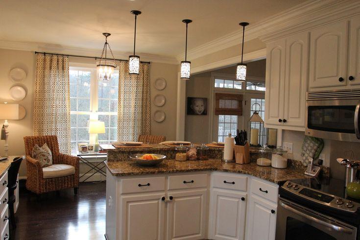 cute kitchen sitting area