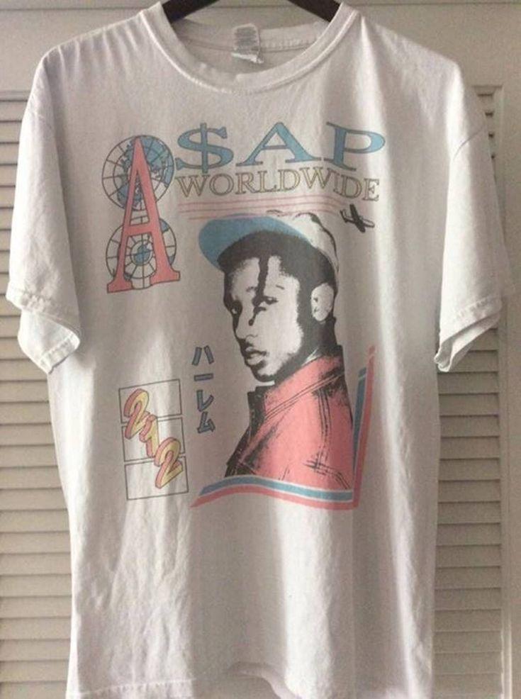 Asap Rocky ASAP Rocky Australia Tour NEED GONE Size l - Short Sleeve T-Shirts for Sale - Grailed