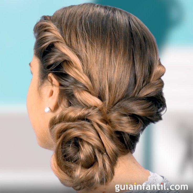 Cómo hacer el recogido de Frozen. http://www.guiainfantil.com/videos/belleza/peinados/recogido-de-frozen-para-las-ninas-peinados-infantiles/