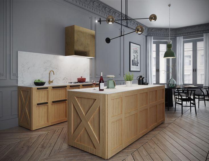 Apartment in paris kitchen галерея 3ddd ru