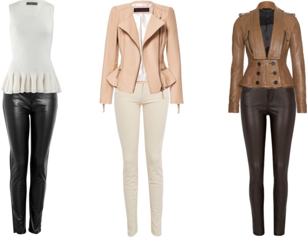 """""""DRESS WITH LEATHER"""" by stephanie-valvo on Polyvore"""