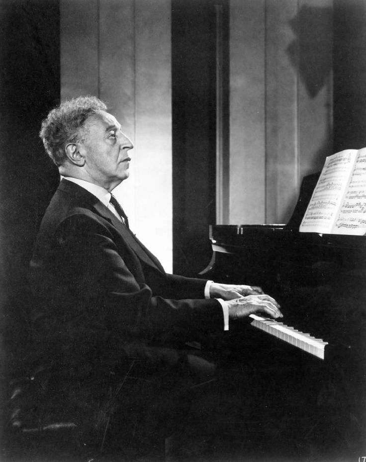 Arthur Rubinstein - favorite pianist of all time. ❤️