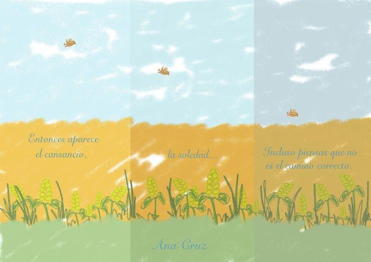 Acuarela #pájaro #libertad #Mindfulness