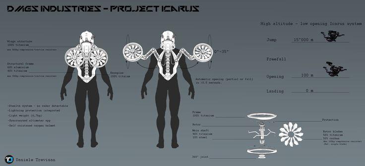 ArtStation - Project Icarus - visual render, Daniele Trevisan