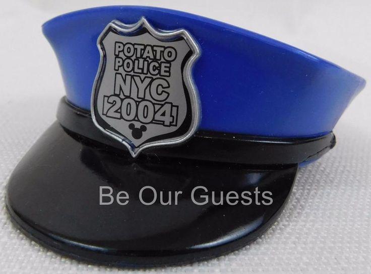 Disney Mr. Potato Head New York City Police NYC Hat Ears Accessory Toy New Parks