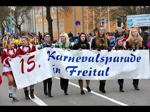 #Video von der Karnevalsparade in #Freital