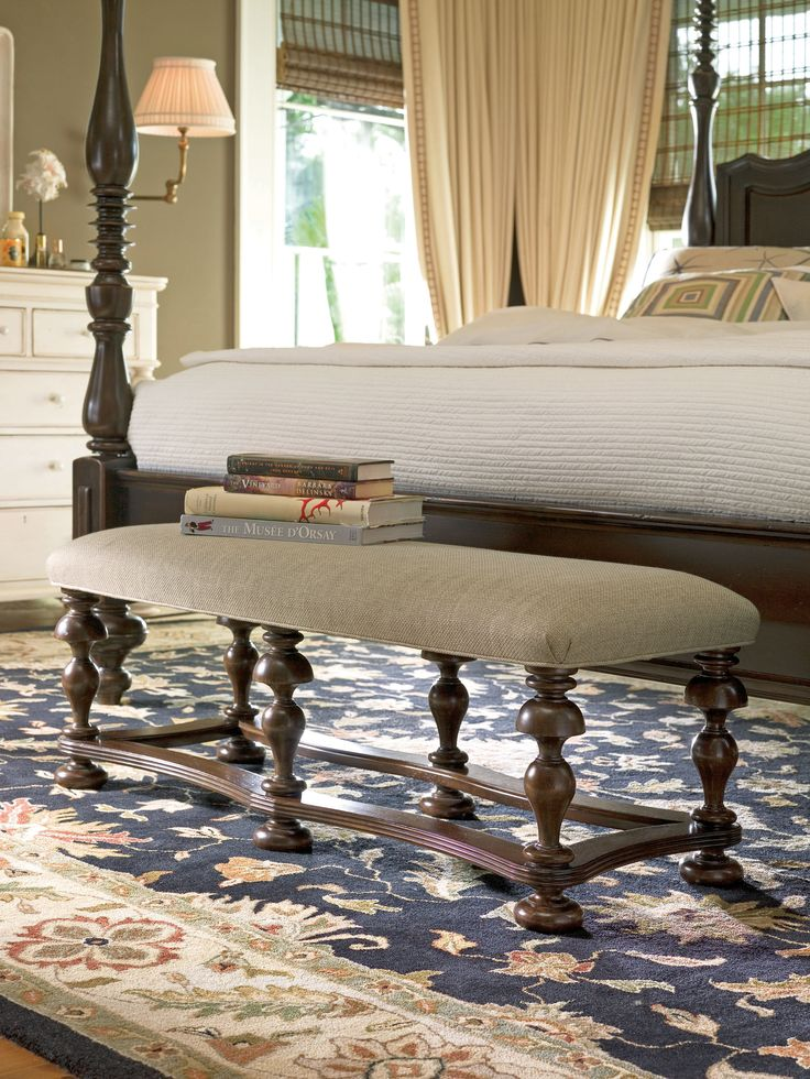 Paula Deen Home Collection Bed End Bench In A Tobacco Finish Paula Deen Home Pinterest