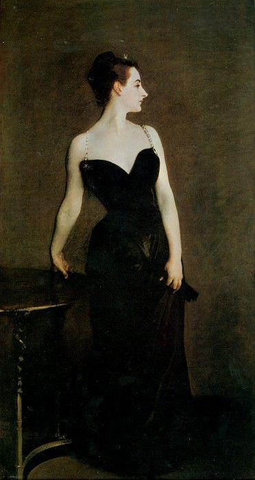 Madame X (Madame Pierre Gautreau) 1884. Джон Сингер Сарджент