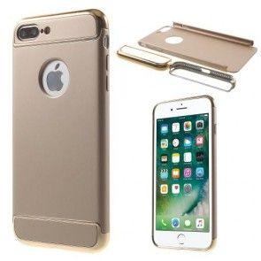 Carcasa iPhone 7 Plus, Plastic Dur, Protectie Spate,  Ultraslim, Aurie