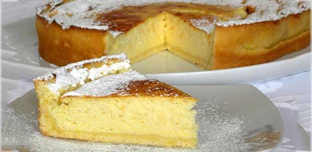 Torta de Ricotta :http://www.recetasjudias.com/torta-de-ricotta/