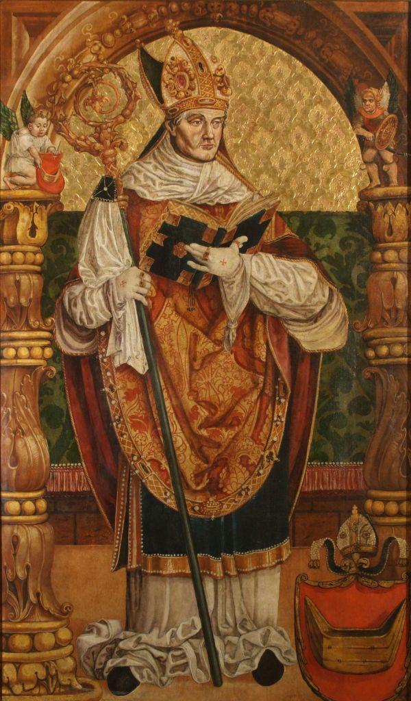 Stanisław Samostrzelnik portret biskupa Tomickiego