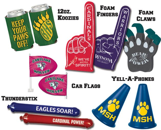 PTO/PTA, Booster Club, Athletics Directors, Students, Teacher and Parents...help your school programs with school spirit fundraising products!