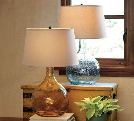 botellas de vidrio lamparas muy ingenioso