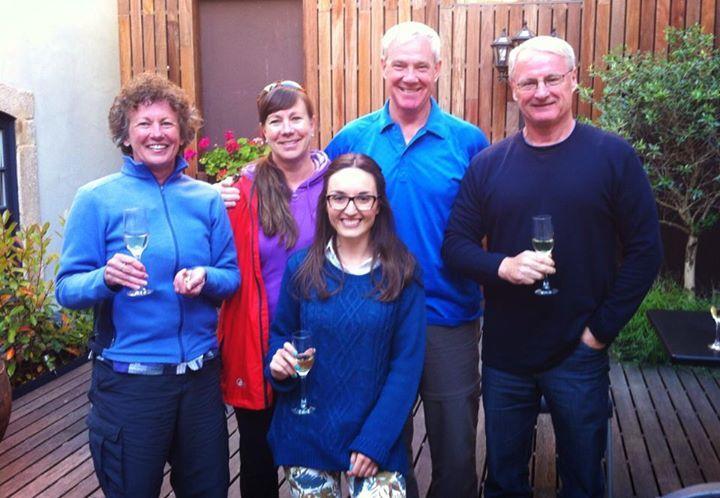 Happy guests at Casa dos Lóios...