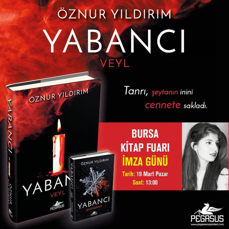 #İmzaGünü  Öznur Yıldırım, 19 Mart Pazar günü 15. #BursaKitapFuarı'nda okurlarıyla buluşuyor. #kitapfuarı