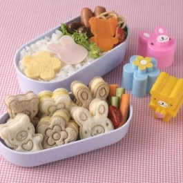Bento broodpunches + stempels cute