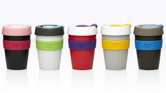 KeepCup is an ecological solution to coffee-on-the-go that attempts to blend the best elements of disposable and reusable cups.