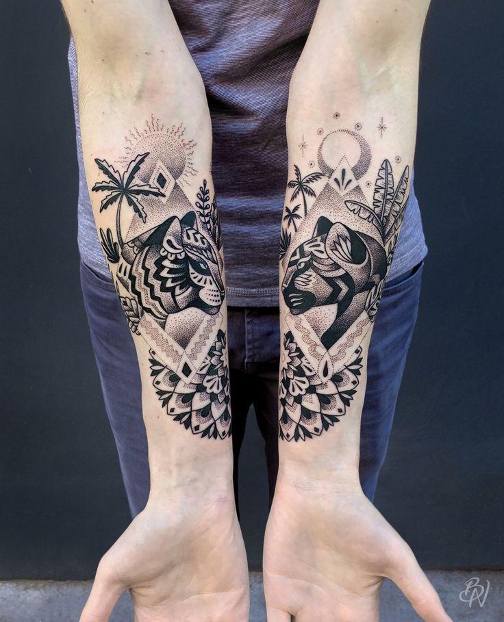 Best 25+ Jungle Tattoo Ideas On Pinterest