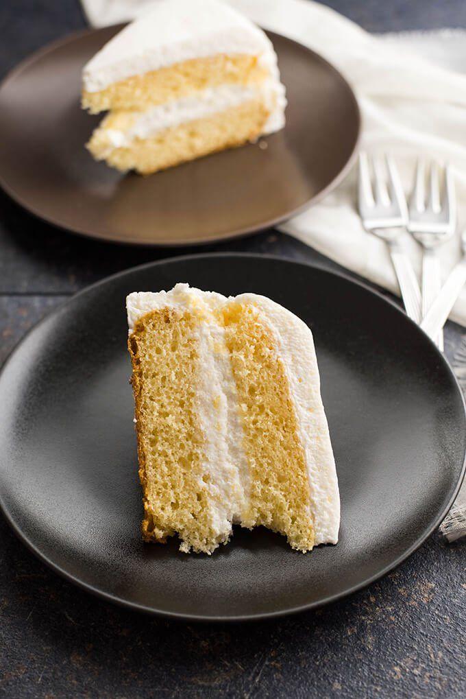 Simple Vanilla Cake Recipe Cake Recipes Vanilla Cake Cake