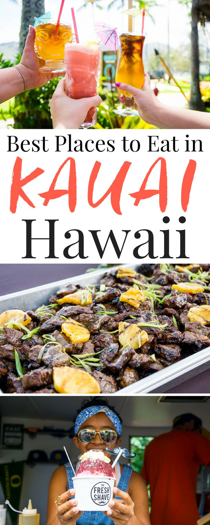 Planning a trip to Hawaii? These are the 10 Best Places to Eat In Kauai, don't miss them!