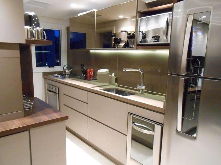 Cozinha espelhada