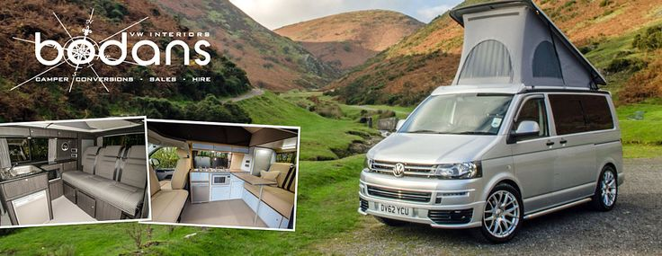 VW Campervans For Sale - Motorhomes For Sale By Bodans Uk & VW Interiors