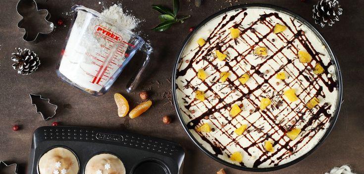 Cheesecake aux spéculoos et à la clémentine