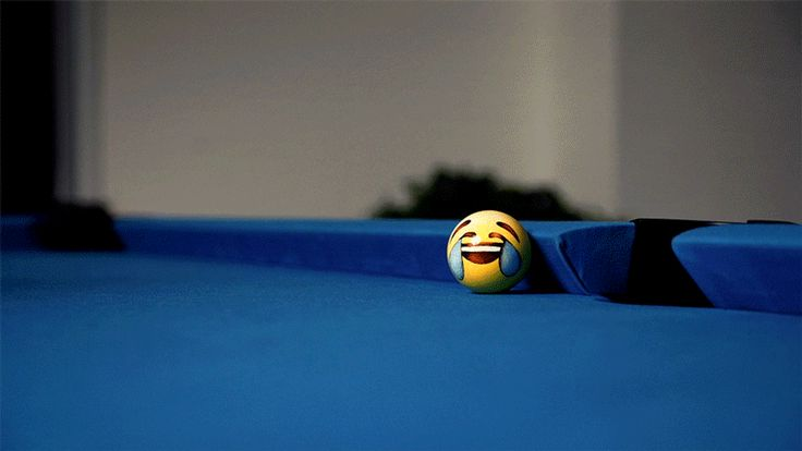 Last week, we got a new pool table at work! So of course, my friend, who is an artist under the name Winigreeni, had to make a set of lovingly hand-painted pool balls starring her favourite emojis.  Special thanks to JB, Xuan, Joseph.
