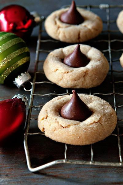 Peanut Butter Blossoms - these are a must in our house at Christmas time and they don't last long!